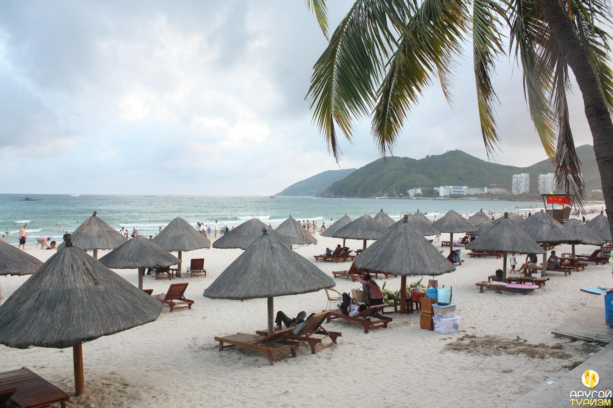 Пляжи на хайнане фото